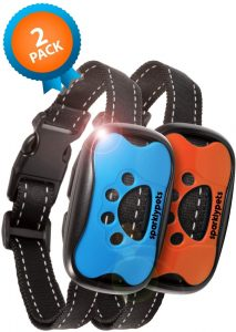 SparklyPets Humane Dog Bark Collar 2 Pack