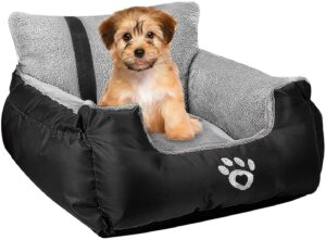 Utotol Dog Car Bed Puppy Booster Seat
